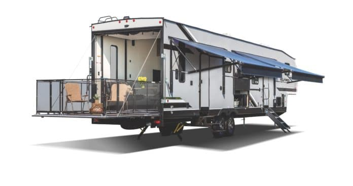 Forest River Wolf Pack Towable Toy Hauler Fifth Wheel