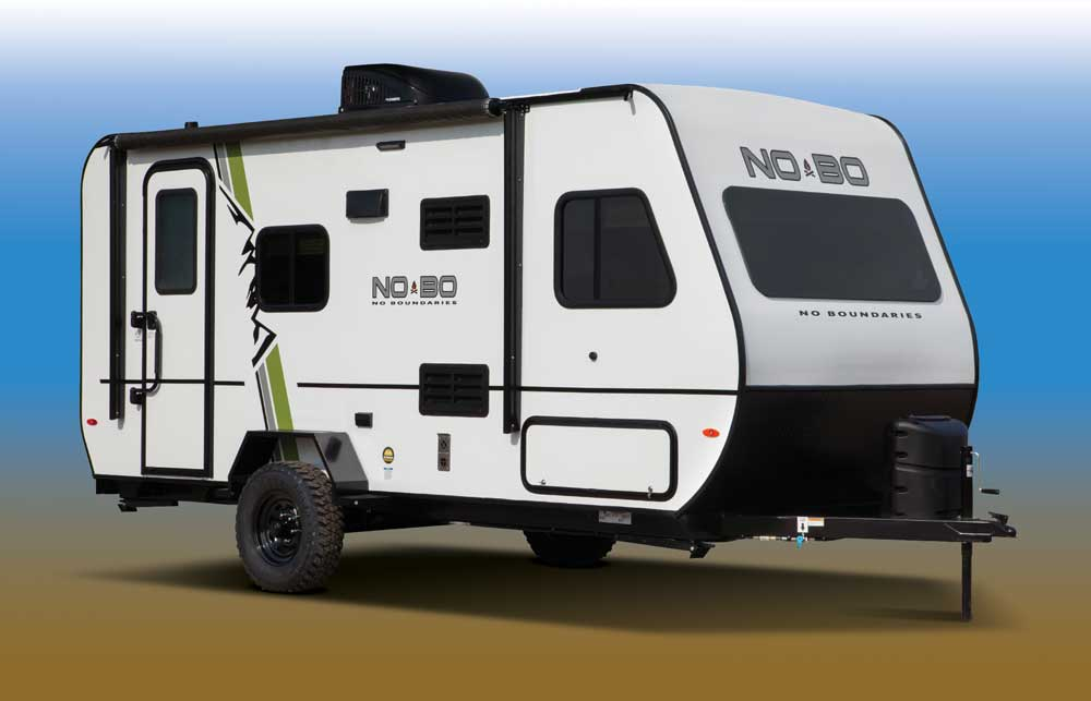 NoBo lightweight travel trailer